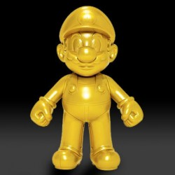 Figurine Super Mario Gold  -  Les Figurines