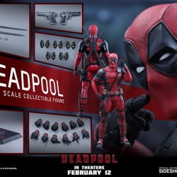 Figurine Deadpool - Hot Toys  - LES FIGURINES