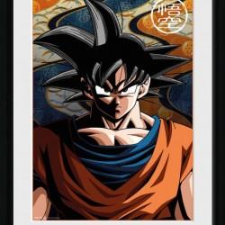 Dragon Ball Z - Collector Print Goku  - Goodies DBZ