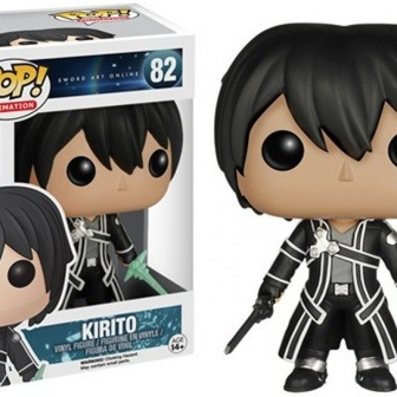 Figurine POP Vinyl - Kirito  - FUNKO POP