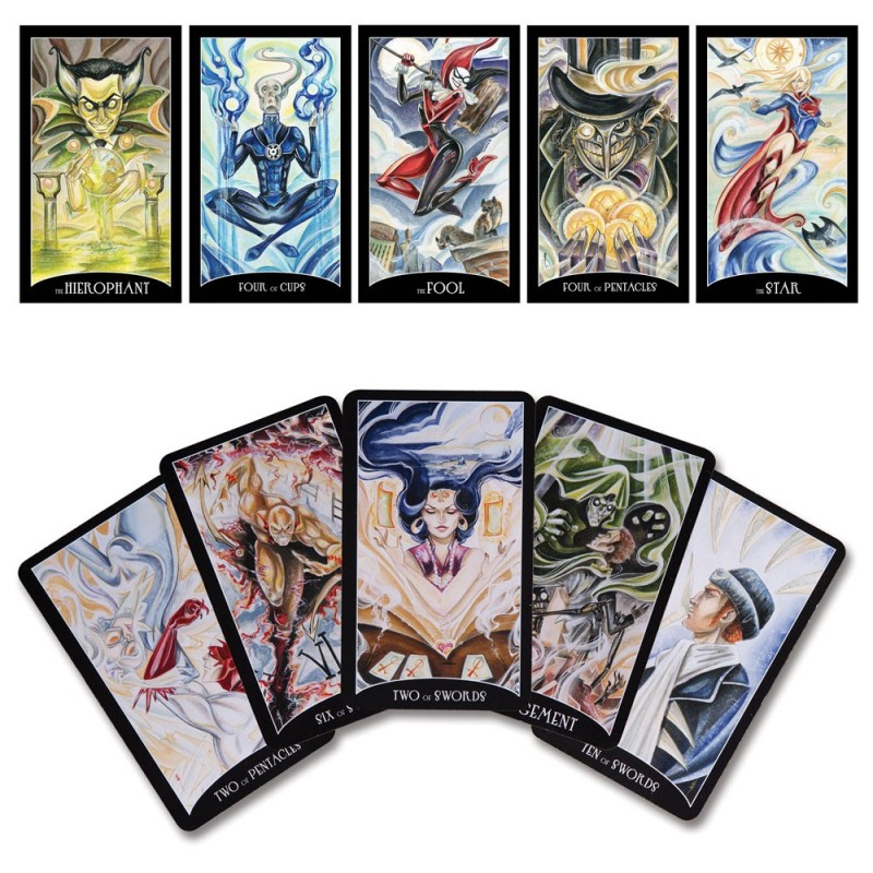 Tarot Justice League  - PRODUITS DERIVÉS