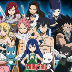 Poster Fairy Tail Groupe  -  FAIRY TAIL