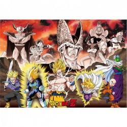 Dragon Ball Z - Poster géant saga Cell  -  DRAGON BALL Z