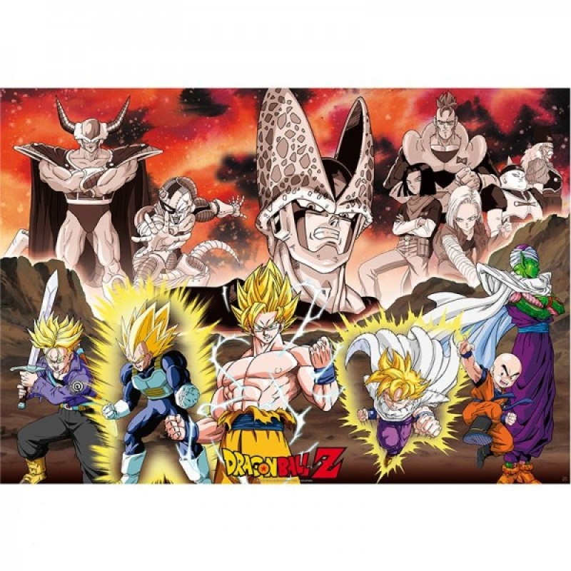 Dragon Ball Z - Poster géant saga Cell  -  DRAGON BALL Z