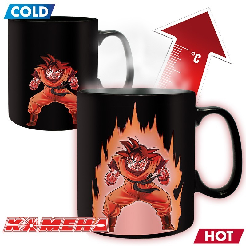Dragon Ball Z - Mug Thermo-réactif Sangoku  - Goodies DBZ