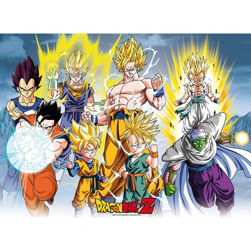 Poster Dragon Ball Z All Stars  - Goodies DBZ