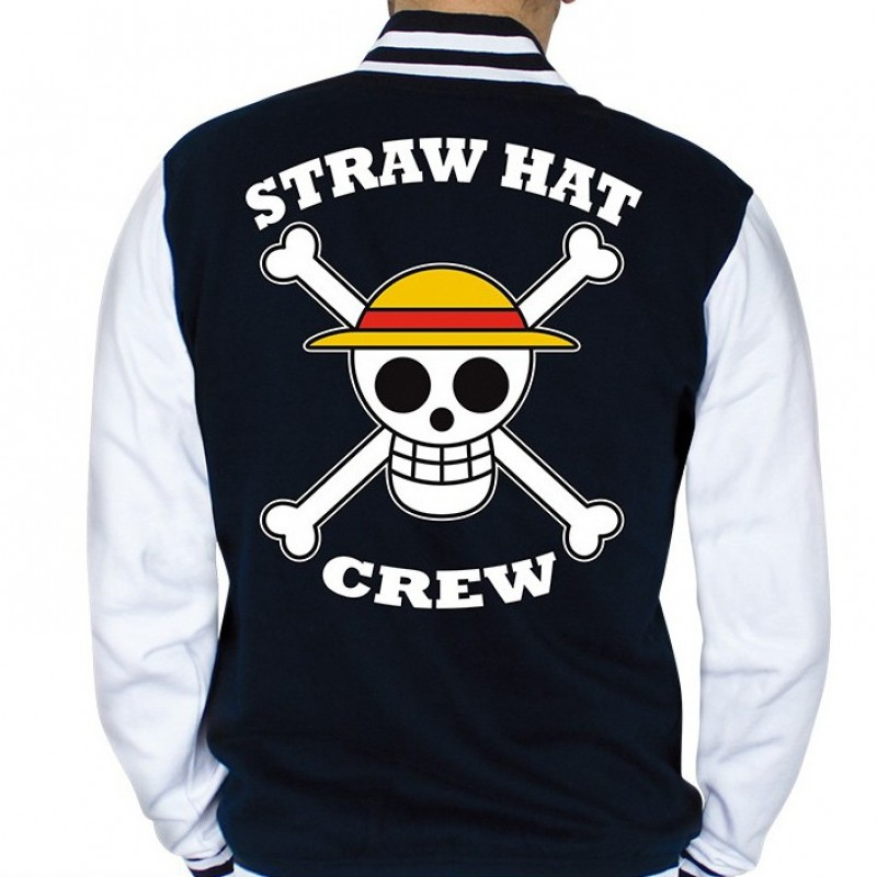 One Piece - Veste Teddy Skull  - T-Shirts