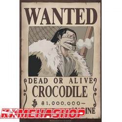 Poster Wanted Crocodile  - Posters & Affiches