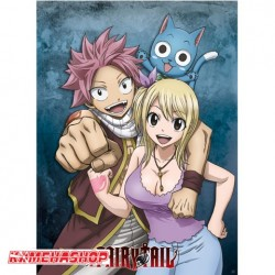 Poster Natsu Lucy et Happy  -  FAIRY TAIL