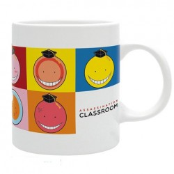 Mug Assassination classroom Koro Faces  - AUTRES GOODIES