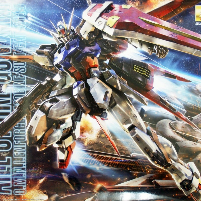 Gundam Aile Strike - Master Grade  -  GUNDAM