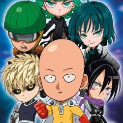 Poster One Punch Man Chibi  - POSTERS & AFFICHES