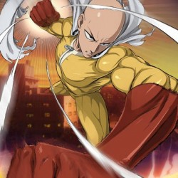 Poster One Punch Man Saitama  - POSTERS & AFFICHES