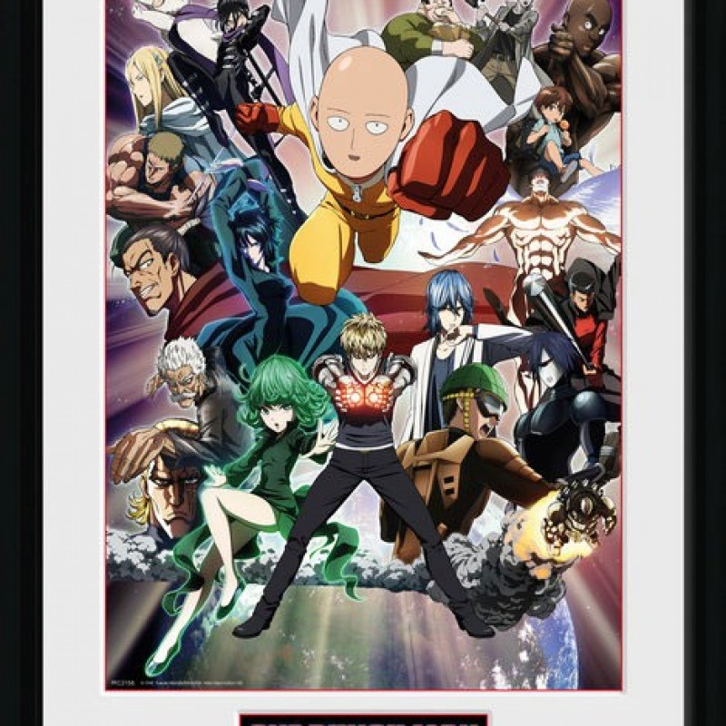 Collector Print One Punch Man  - POSTERS & AFFICHES