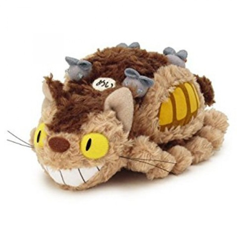 Peluche Chat Bus Fluffy  -  TOTORO - GHIBLI