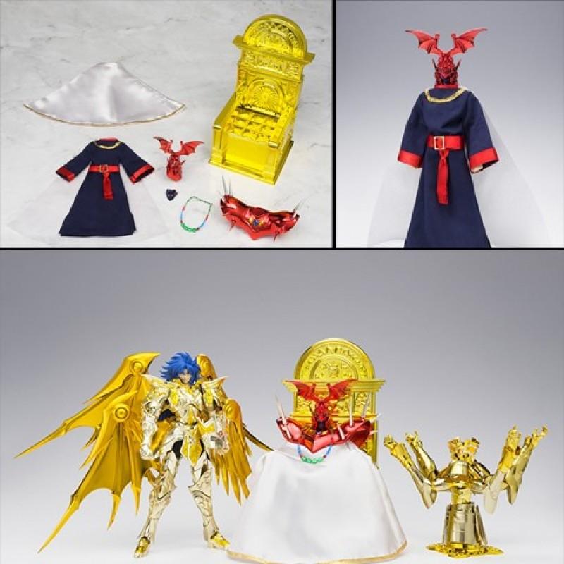 Myth Cloth EX Saga des Gemeaux Premium Set  -  SAINT SEIYA