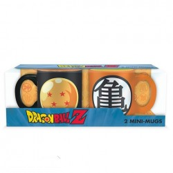 Set de 2 mini mugs Dragon Ball Z  -  DRAGON BALL Z