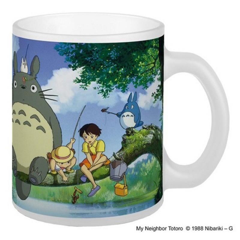 Mug Totoro à la Pêche  -  TOTORO - GHIBLI