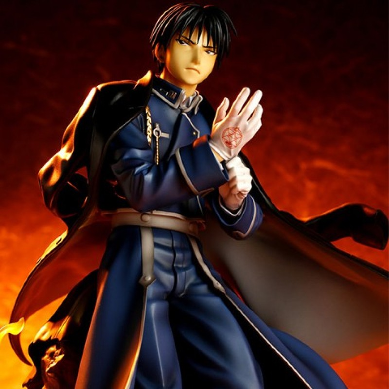 Figurine Roy Mustang  - AUTRES FIGURINES