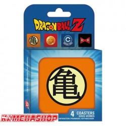 Set de 4 sous verres Dragon Ball Z  -  DRAGON BALL Z