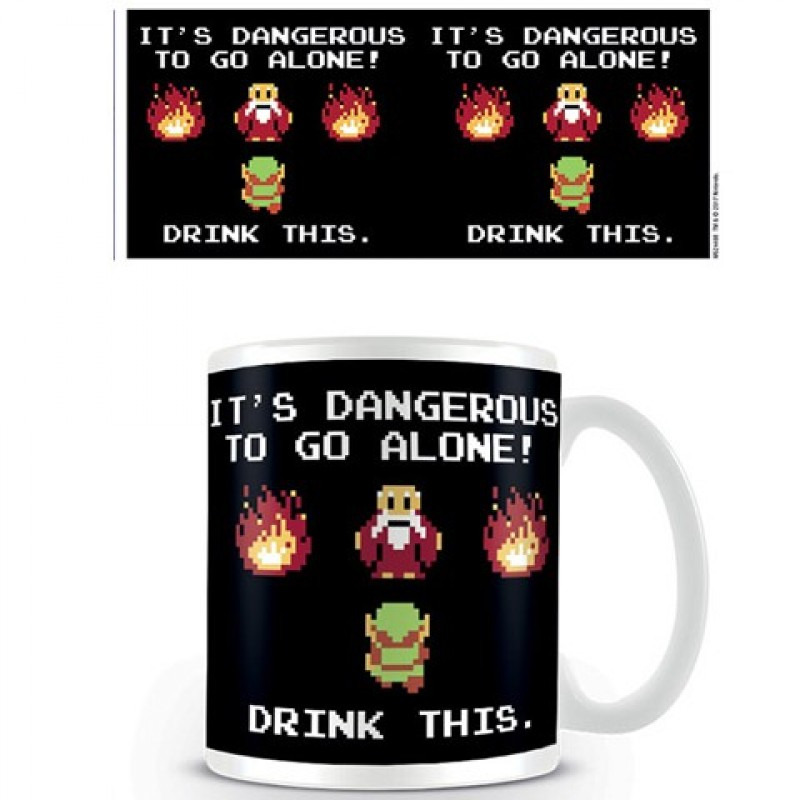 Mug Legend of Zelda Drink This  - ZELDA