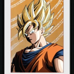 Dragon Ball Z - Collector Print Goku SSJ  -  DRAGON BALL Z