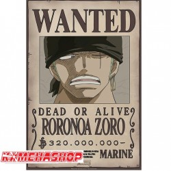 Affiche Wanted Zoro - New World Prime  -  ONE PIECE