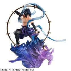 Figurine Sasuke Uchiha Raijin  -  NARUTO