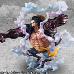 Figurine One Piece - P.O.P Luffy Gear 4  -  ONE PIECE