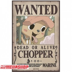 Affiche wanted Chopper - New world prime  -  ONE PIECE