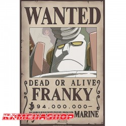 Affiche Wanted Franky - New World Prime  -  ONE PIECE