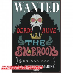 Affiche Wanted Brook - New World Prime  -  ONE PIECE