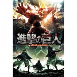 Poster Attaque des Titans Saison 2  - L'ATTAQUE DES TITANS