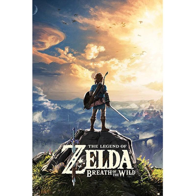 Poster Zelda Breath of the Wild Sunset  - NOUVEAUTÉS