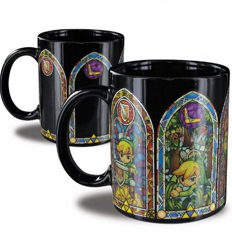 Mug Thermo-Réactif The Legend of Zelda  - ZELDA