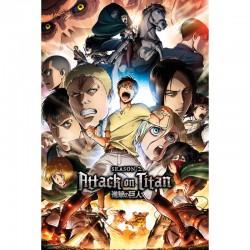 Poster L'Attaque des Titans - Saison 2 Art  - L'ATTAQUE DES TITANS