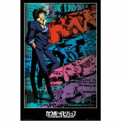 Poster Cowboy Bebop Spike  - POSTERS & AFFICHES