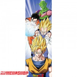 Dragon Ball Z - Poster de porte Saiyans  -  DRAGON BALL Z