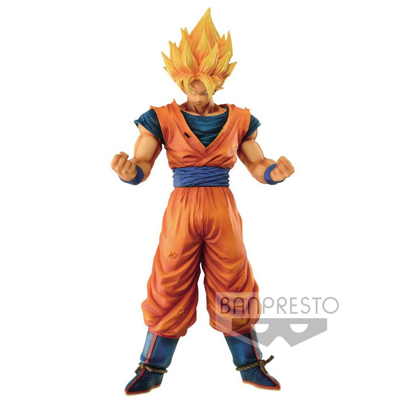dragon ball z figurine goku grandista resolution of soldiers banpresto. Black Bedroom Furniture Sets. Home Design Ideas