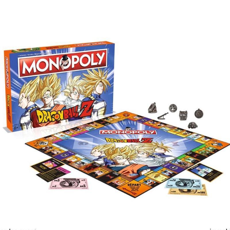 Monopoly Dragon Ball Z  -  DRAGON BALL Z