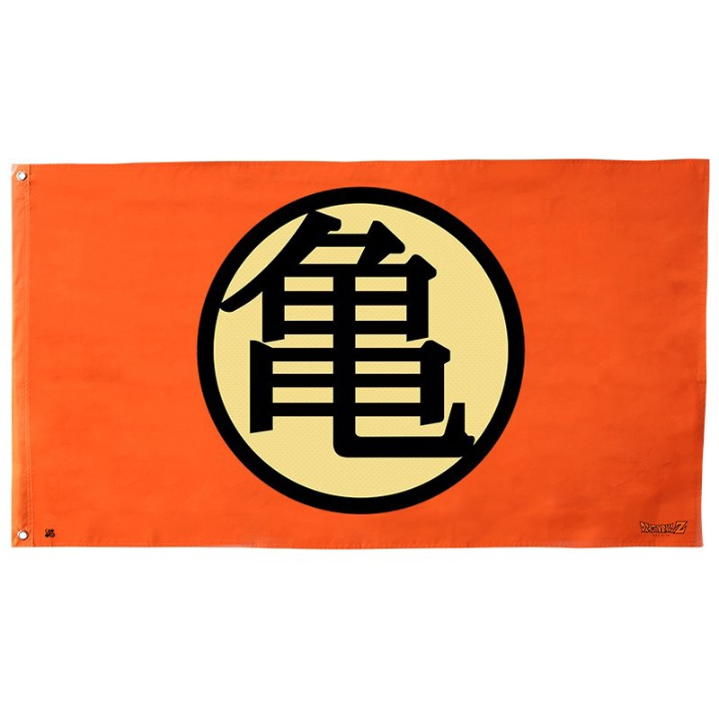 Dragon Ball Z - Drapeau Kame Symbol  -  DRAGON BALL Z