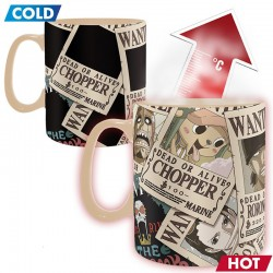 One Piece - Mug Thermo-réactif Wanted  -  ONE PIECE