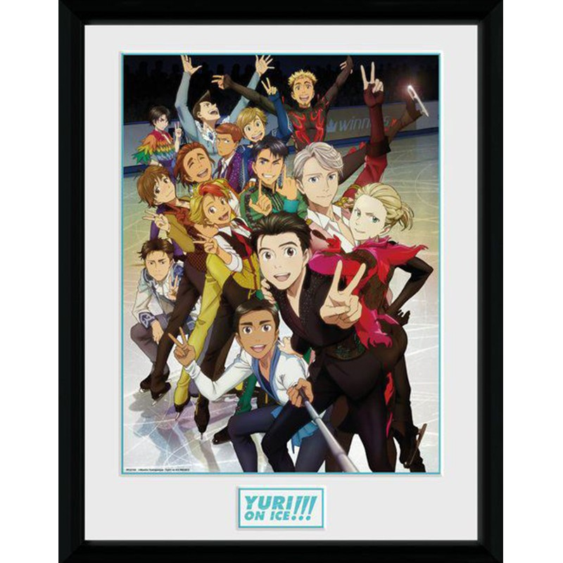 Yuri on Ice - Collector print Characters  - POSTERS & AFFICHES