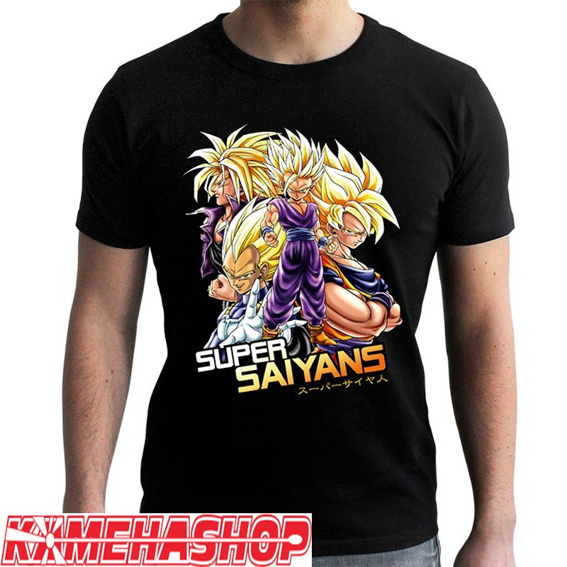 Dragon Ball Z - T-shirt Super Saiyans  -  DRAGON BALL Z