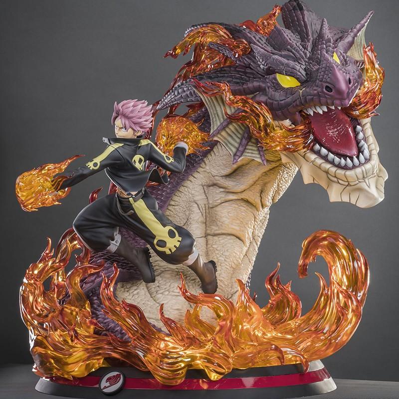 Figurine Natsu Dragon Slayer HQS+ Tsume  -  FAIRY TAIL