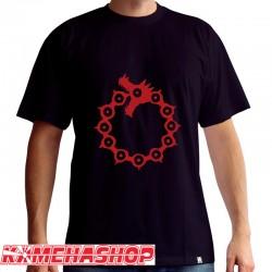 The Seven Deadly Sins - T-shirt Emblèmes  -  T-SHIRTS & VETEMENTS