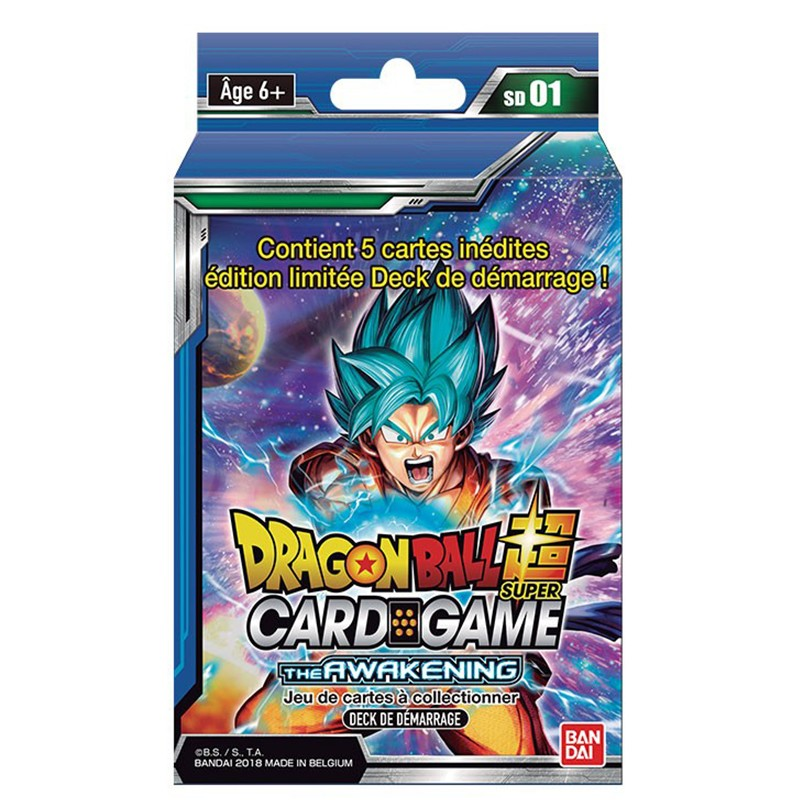 Deck de Démarrage Dragon Ball Super  -  DRAGON BALL Z