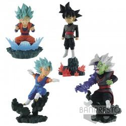 DBS - Set de 4 Figurines Diorama  -  DRAGON BALL Z