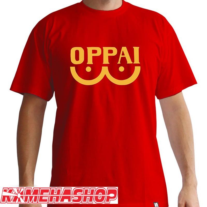 One Punch Man - T-shirt Oppai  -  T-SHIRTS & VETEMENTS