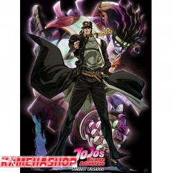 Jojo's - Poster Jotaro & Star Platinum  - POSTERS & AFFICHES